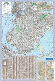 Map Of Brooklyn Ny Brooklyn Ny Wall Map U2013 Kappa Map Group