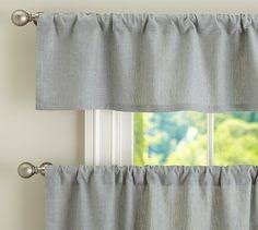 Cafe Style Curtains Textured Cotton Cafe Curtain Potterybarn In White May Use With