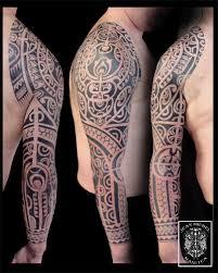 tatouage polynesien polynesian tattoo marquesan sleeve