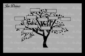 family tree 12 names svg dxf eps png by design bundles