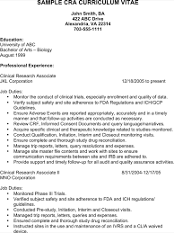 letter for clinical research assistant