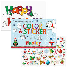 really big personalized coloring book u0026 stickers current catalog