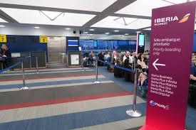 Jfk Terminal 8 Map Flight Review Iberia A340 600 Premium Economy Jfk To Mad