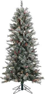 6 frosted berry pine tree with 200 clear lights reviews joss