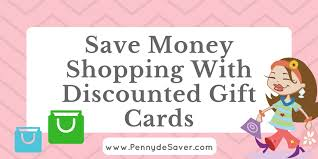 buying discounted gift cards shopping with discounted gift cards to save money