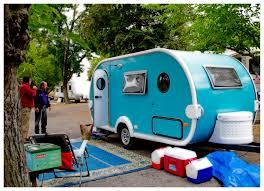 not vintage but love color little rv t da trailer t da as