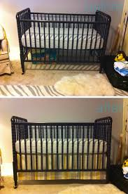 Crib Bed Skirt Diy Practical Diy Crib Skirt Three Sided And Easy To Adjust As