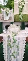 25 statement making fresh flower table runners praise wedding