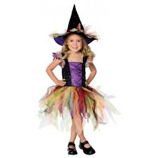 costume of witch deluxe girls wicked witch with hat oz halloween fairytale fancy