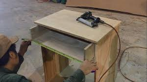 woodworking fastest and easiest u2013 building laptop desk have