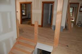 stairs trim and closets modern craftsman style home