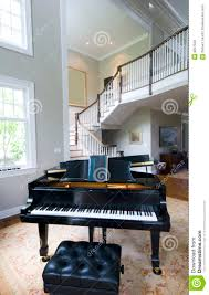 grand piano living room stock photography image 9927532