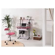 Pink Computer Desk Computer Desk Pink Hodedah Import Target