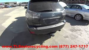 lexus rx exhaust parting out 2004 lexus rx 330 stock 5109br tls auto recycling