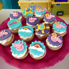 peppa pig cupcakes peppa pig cupcakes picture of the best cake by neni porto