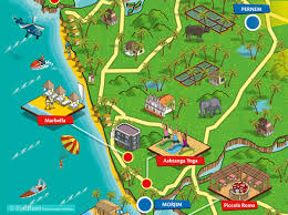 Goa Map Rod Hunt Illustration Studio Illustration And Map Design