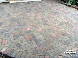 Patio Paver Prices Patio Designs With Pavers Photos For Paver Patio Applications