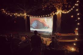 movie backyard how to set up a backyard movie theater vanity