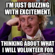 Volunteer Meme - volunteer meme 28 images when my overbooked flight said anyone