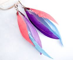 how to make feather earrings with diy feather earrings a free photo tutorial on the craftsy