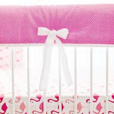 pink crib rail cover pink and white crib rail guard