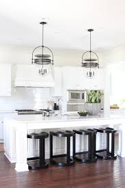 Kitchen Urban - coastal white kitchen w urban electricbecki owens