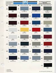 100 paint color code chrysler valiant colour codes auto