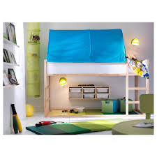 Bunk Bed With Tent At The Bottom Kura Reversible Bed Ikea