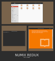 numix gtk3 theme by satya164 on deviantart