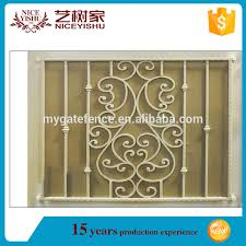 italian ornamental modern simple wrought iron safety net for