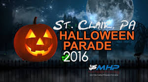 57th annual st clair pa halloween parade 2016 youtube