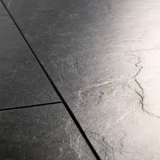 Black Laminate Flooring Tile Effect Quick Step Exquisa Exq1551 Slate Black Galaxy Laminate Flooring