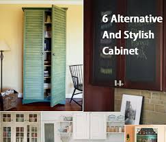 alternative to kitchen cabinets 6 alternative and stylish cabinet doors