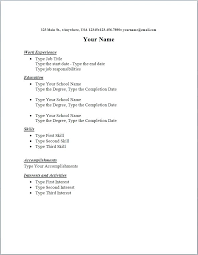 simple format for resume this is simple resumes articlesites info