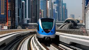 dubai worldclass metro train metro station hd youtube