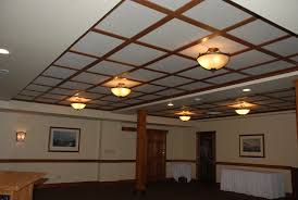 Ideas For Drop Ceilings In Basements Woodgrid Coffered Ceilings By Midwestern Wood Products Co Wood