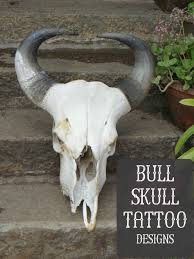 bull skull designs and meanings tatring