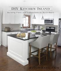 your own kitchen island build a diy kitchen island build basic throughout how to
