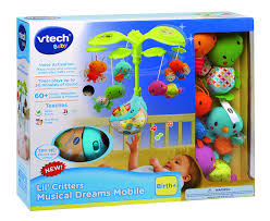 baby crib lights toys vtech lil critters musical dreams mobile v tech amazon ca toys