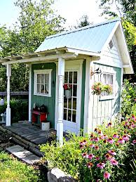 cute porch ideas country garden sheds cottage garden shed ideas