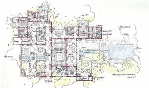 21 best hacienda style home plans with courtyards architecture