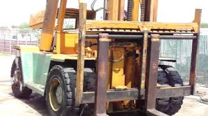 caterpillar v300 forklift youtube