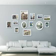 Picture Wall Collage by Wood Photo Picture Frame Wall Collage Set Of 13 Modern Home Decor