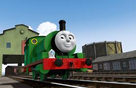 thomas tank engine bringing percy strasburg tour stop