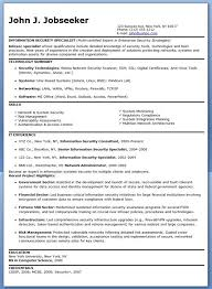 federal resume templates information security specialist resume sle creative resume