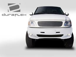 Ford F150 Truck Dimensions - duraflex 103064 lightning se front bumper cover 1 piece fit ford