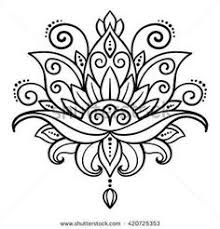 Simple Lotus Flower Drawing - how to draw lotus flower step by step how to draw pinterest