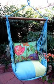 meadow mist floral canvas hammock chair swing set only 149 99 at