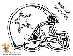 coloring pages football teams coloring