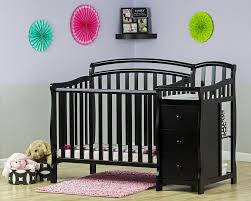 Mini Crib With Attached Changing Table On Me Caso 3 In 1 Convertible Mini Crib Reviews Wayfair